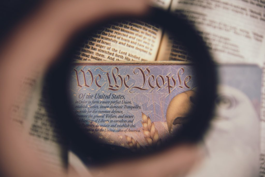 "Photo by Anthony Garand on Unsplash Photo of a passport's page ""we the people..."""